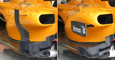 McLaren - Technik - GP China / GP Bahrain - F1 2018