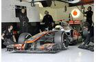 McLaren Test 2012 ohne Splitter