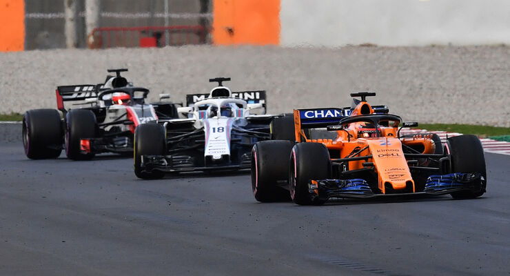 McLaren, Williams & HaasF1 - Barcelona-Test - F1 - 2018