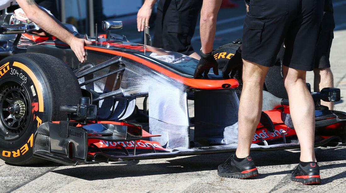 McLaren - Young Drivers Test - Silverstone - 19. Juli 2013