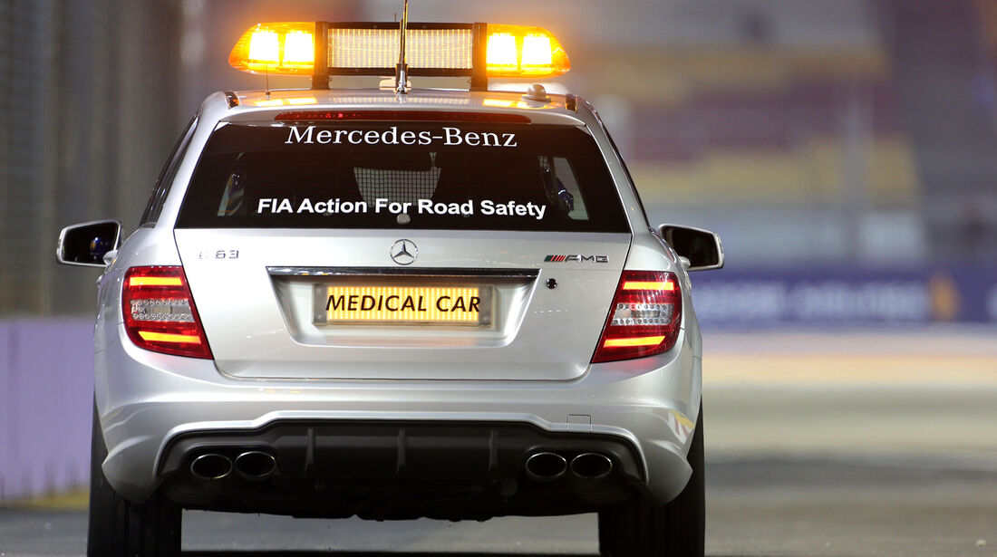 Medical Car - Formel 1 - GP Singapur - 18. September 2014