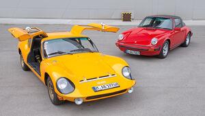 Melkus RS 1000, Porsche 911 SC, Frontansicht