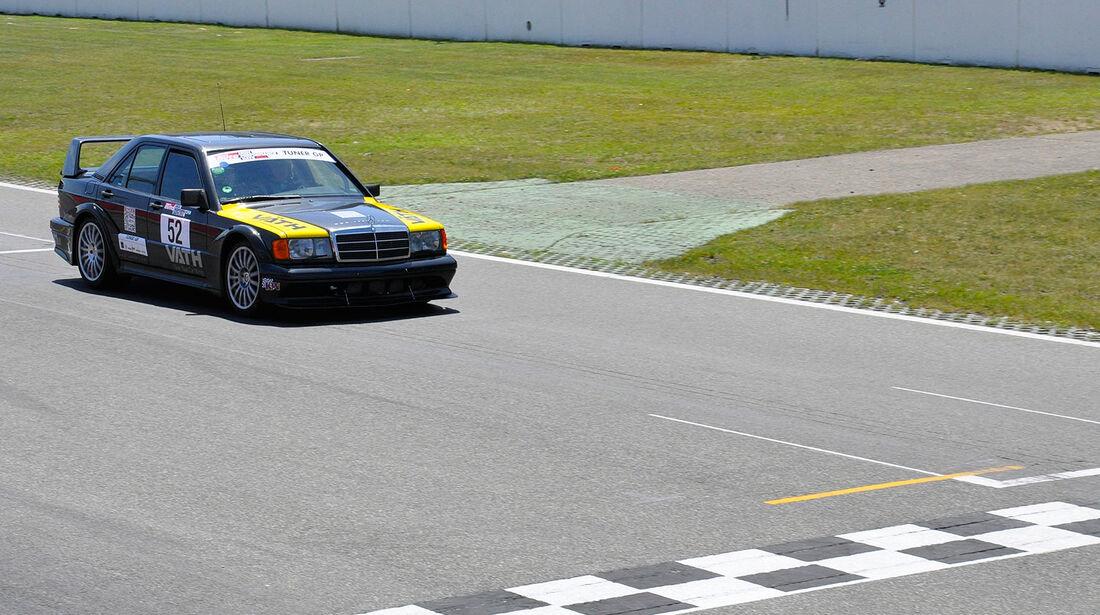 Mercedes 190 E 2.3 16V, Finallauf, TunerGP 2012, High Performance Days 2012, Hockenheimring, sport auto