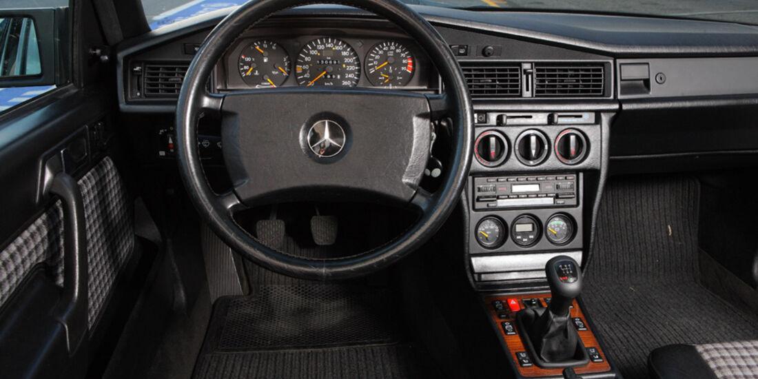 Mercedes 190 E 2.5-16 EVO II, Detail, Cockpit