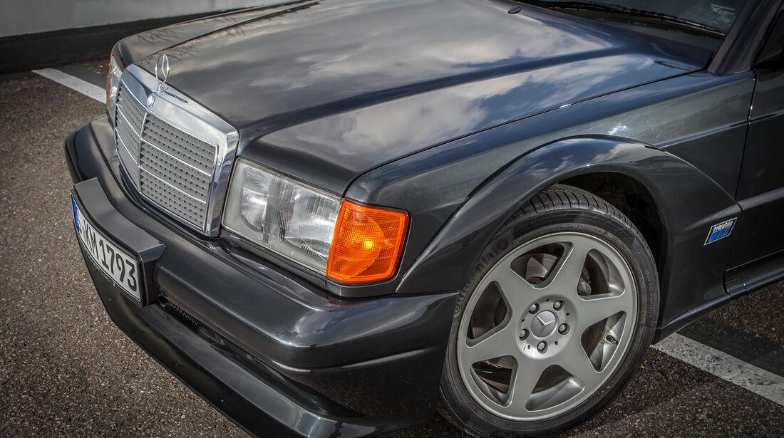Mercedes 190 E 2.5-16 Evo II, Cro, Motorhaube