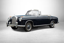 Mercedes 220 S Ponton Cabriolet bei Auctionata-Auktion, Mercedes-Benz-Only