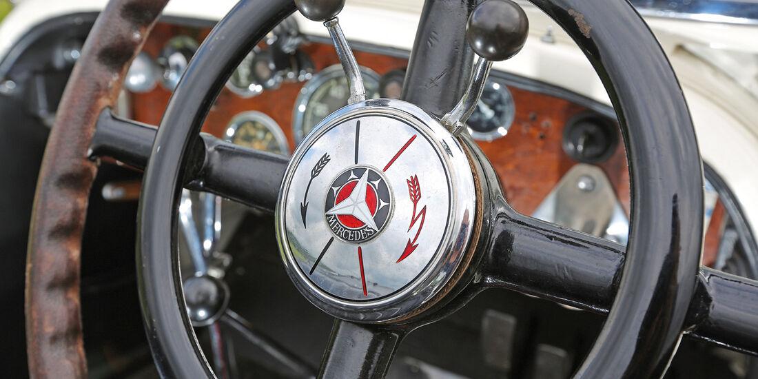 Mercedes 27/180/250 Typ 710 SS, Lenkrad