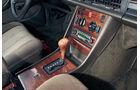 Mercedes 280 SE, Mittelkonsole, Schalthebel