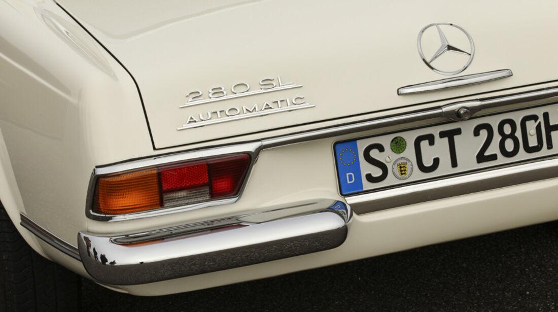 Mercedes 280 SL, Rücklicht