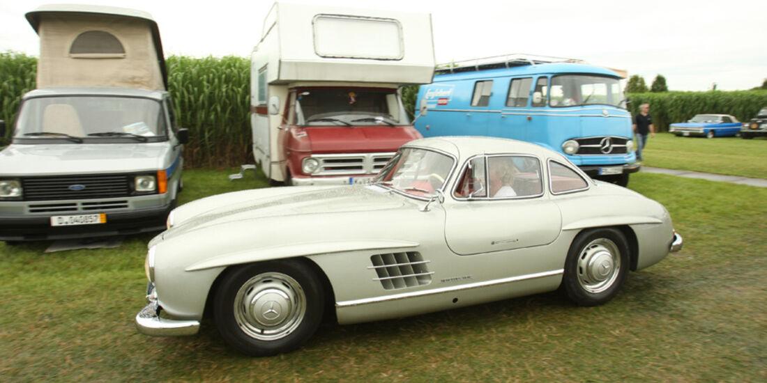 Mercedes 300 SL, Flügeltürer