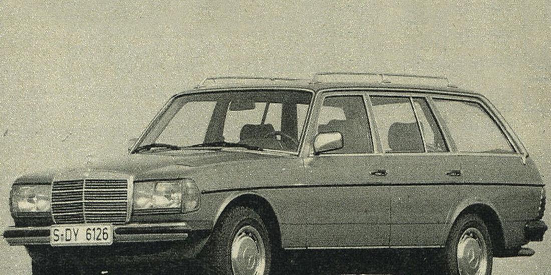 Mercedes, 300 TD Turbodiesel, IAA 1981