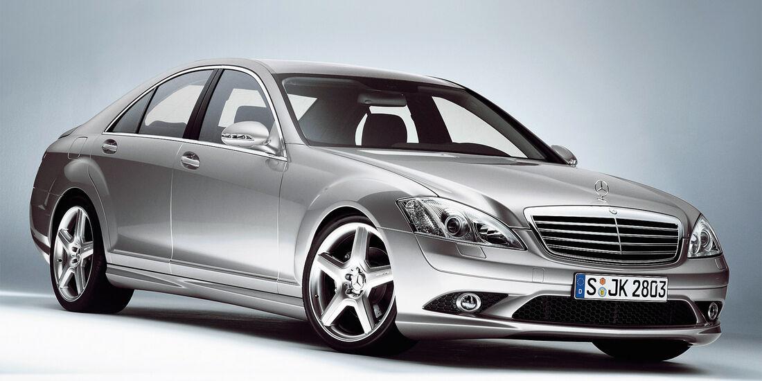 Mercedes 320 CDI, Seitenansicht