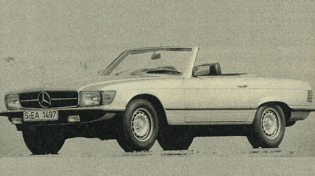 Mercedes, 380 SL, IAA 1981