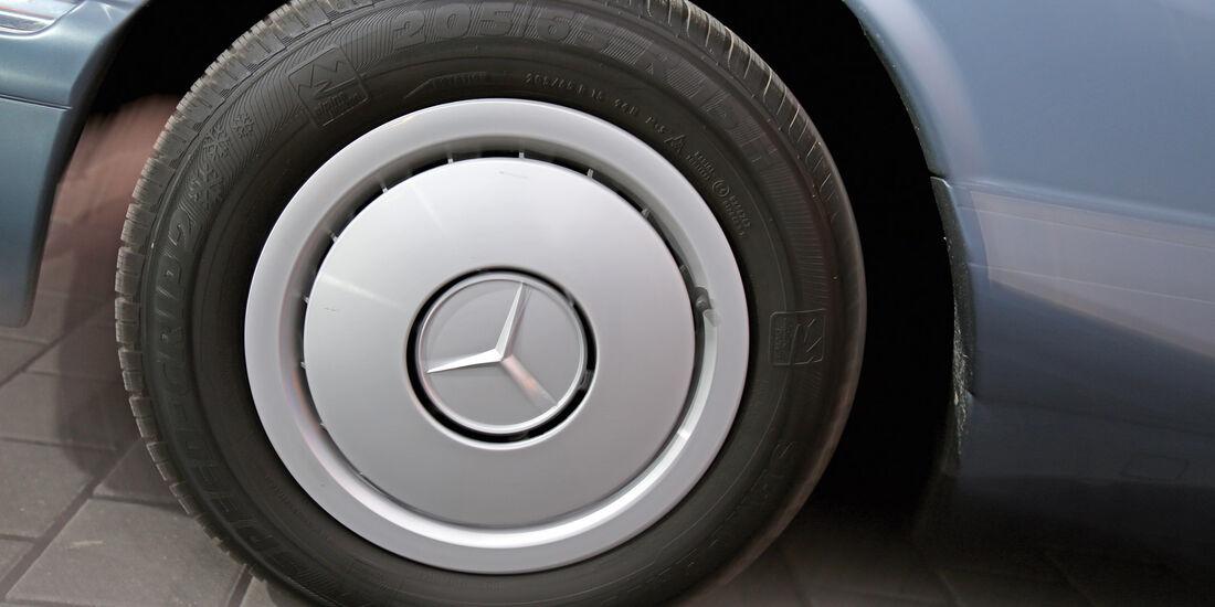 Mercedes 420 SE, Rad, Felge