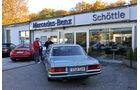 Mercedes 450 SEL 6.9, Heckansicht