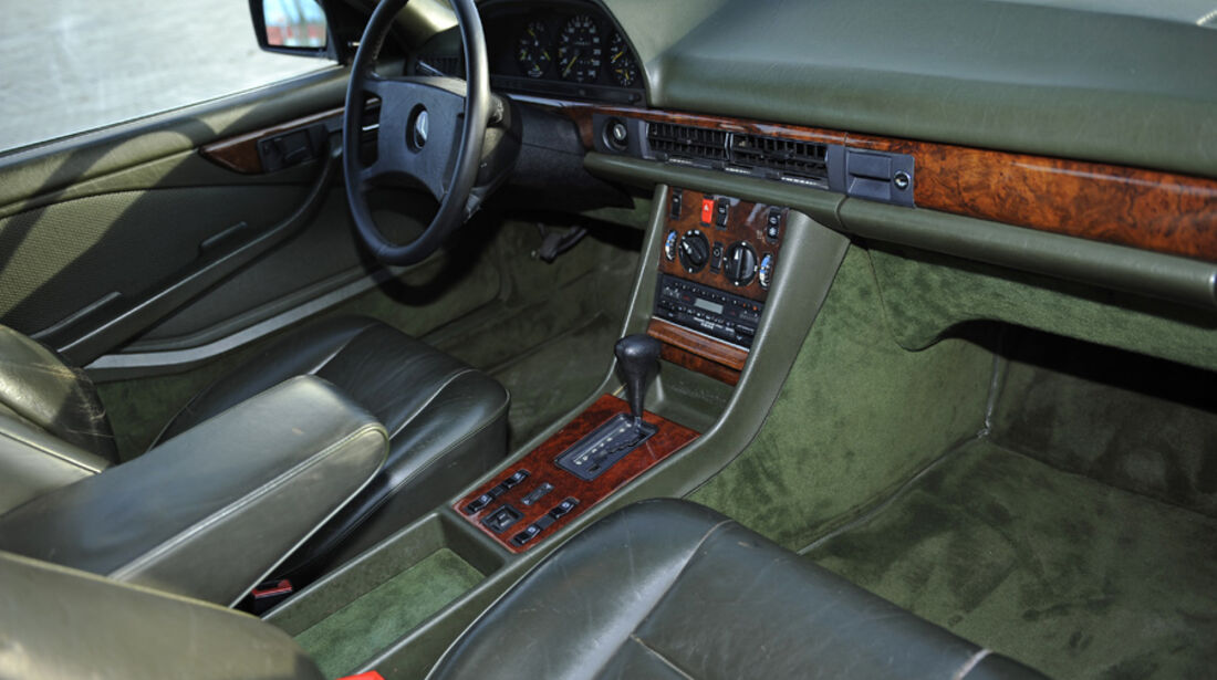 Mercedes 500 SEC, Innenraum