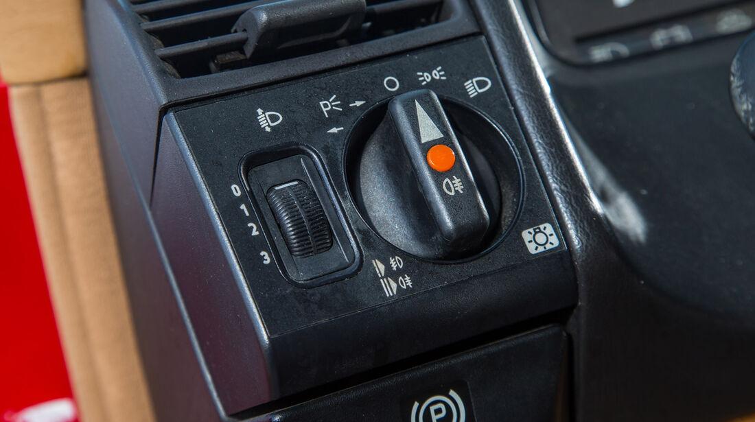 Mercedes 500 SL (R129), Bedienelemenete