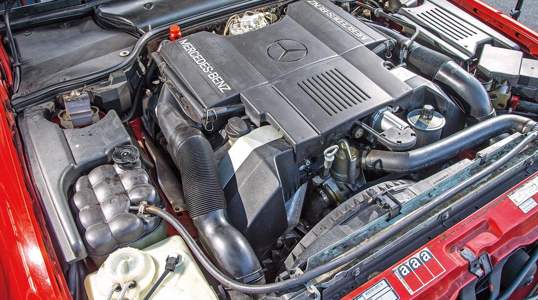 Mercedes 500 SL (R129), Motor