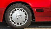 Mercedes 500 SL (R129), Rad, Felge