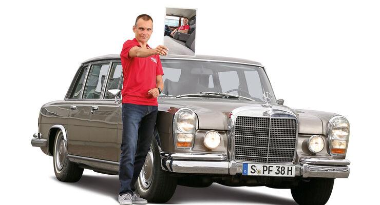 Mercedes 600, Frontansicht