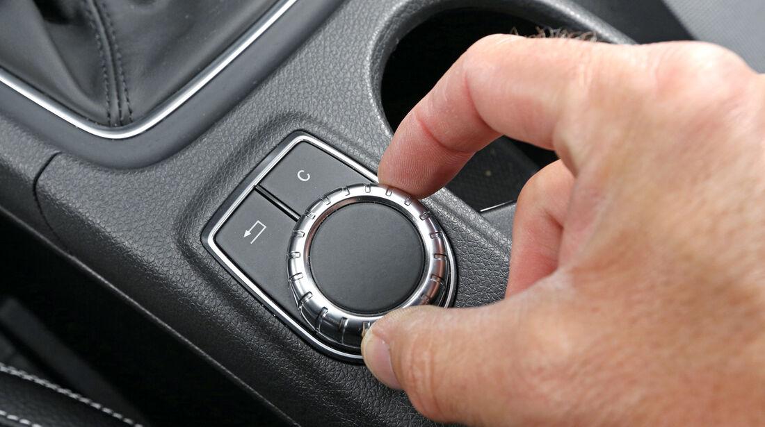 Mercedes A 180 CDI, Bedienelement