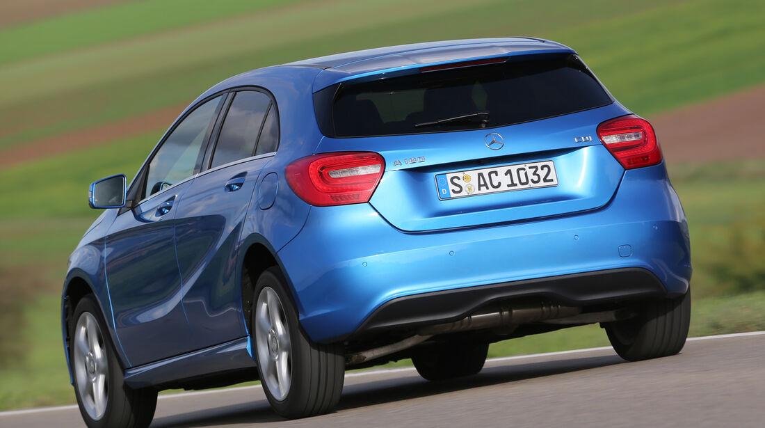 Mercedes A 180 CDI, Heckansicht