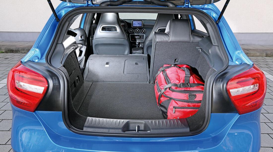 Mercedes A 180 CDI, Kofferraum