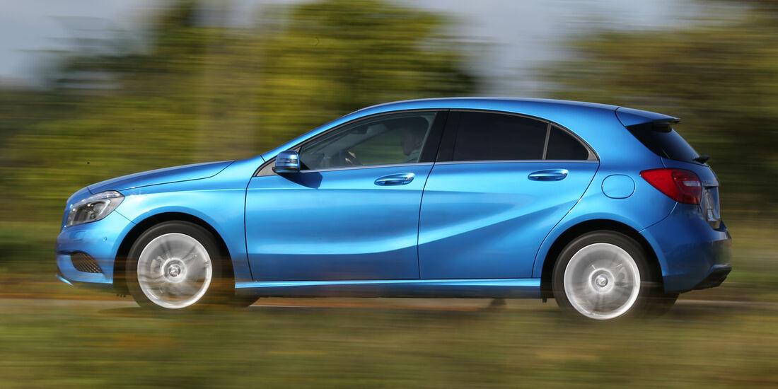 Mercedes A 180 CDI, Seitenansicht
