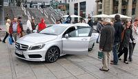 Mercedes A 180, Seitenansicht