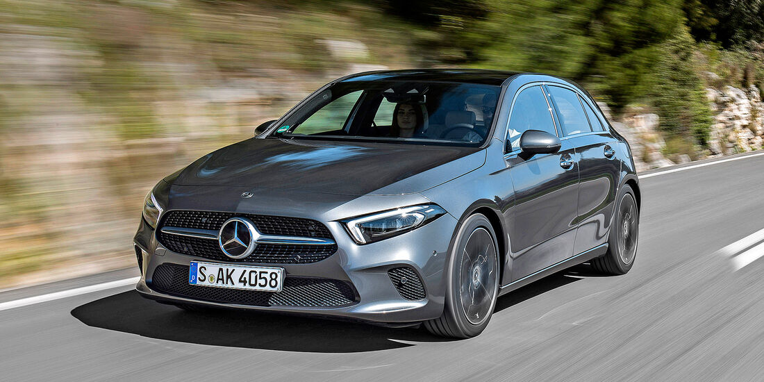 Mercedes A 220 - Serie - Kompaktwagen bis 35000 Euro - sport auto Award 2019