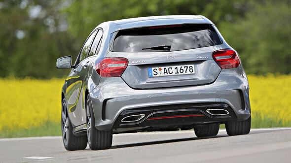 Mercedes A 250, Exterieur
