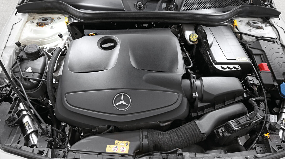 Mercedes A 250, Motor