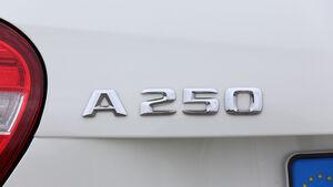 Mercedes A 250, Typenbezeichnung