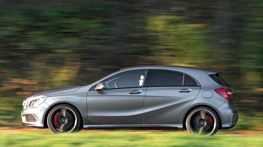 Mercedes A 45 AMG, Seitenansicht