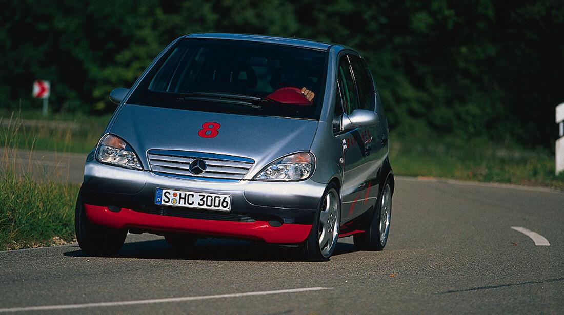 Mercedes A-Klasse, 1998, Edition Häkkinen