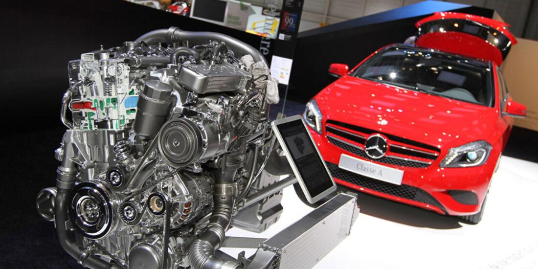Mercedes A-Klasse Auto-Salon Genf 2012