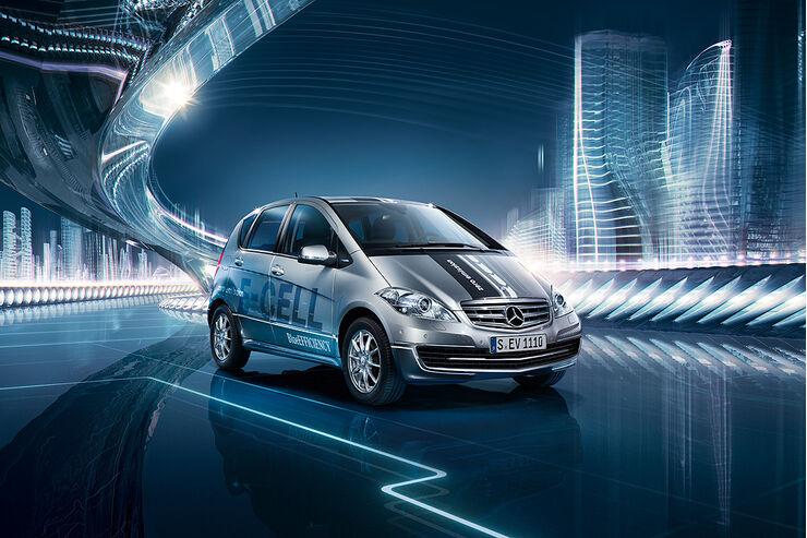 Mercedes A-Klasse E-Cell, E-Auto, Elektroauto
