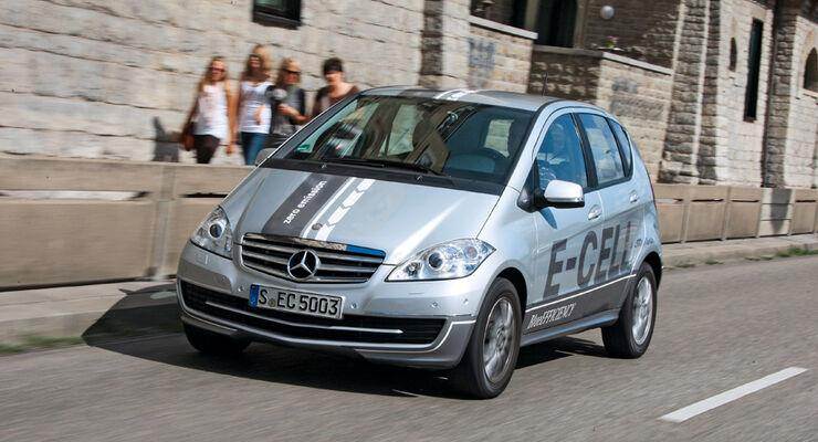 Mercedes A-Klasse E-Cell, Frontansicht