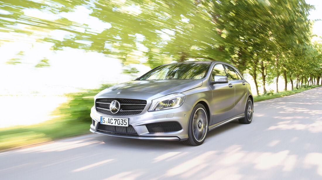 Mercedes A-Klasse, Frontansicht
