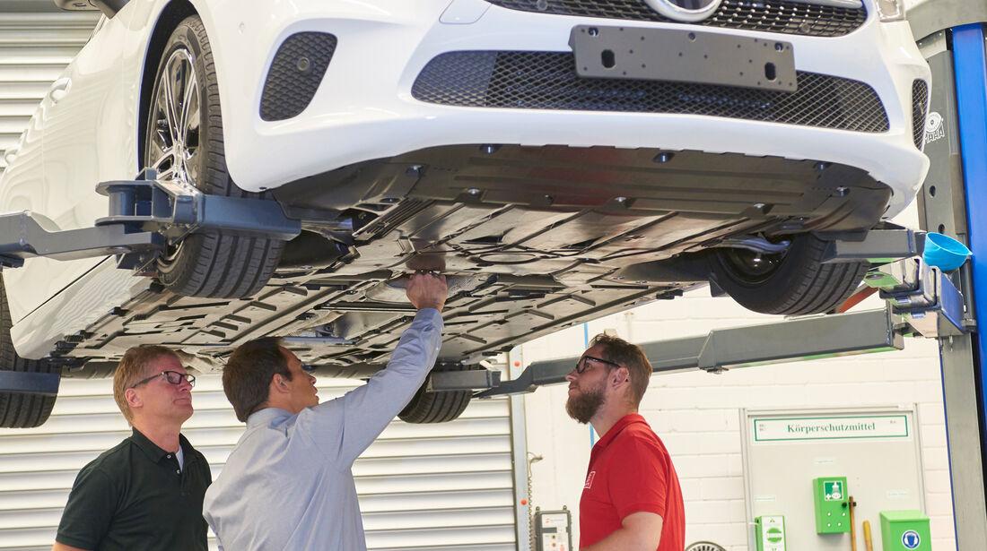 Mercedes A-Klasse Limousine Windkanal cW Weltrekord