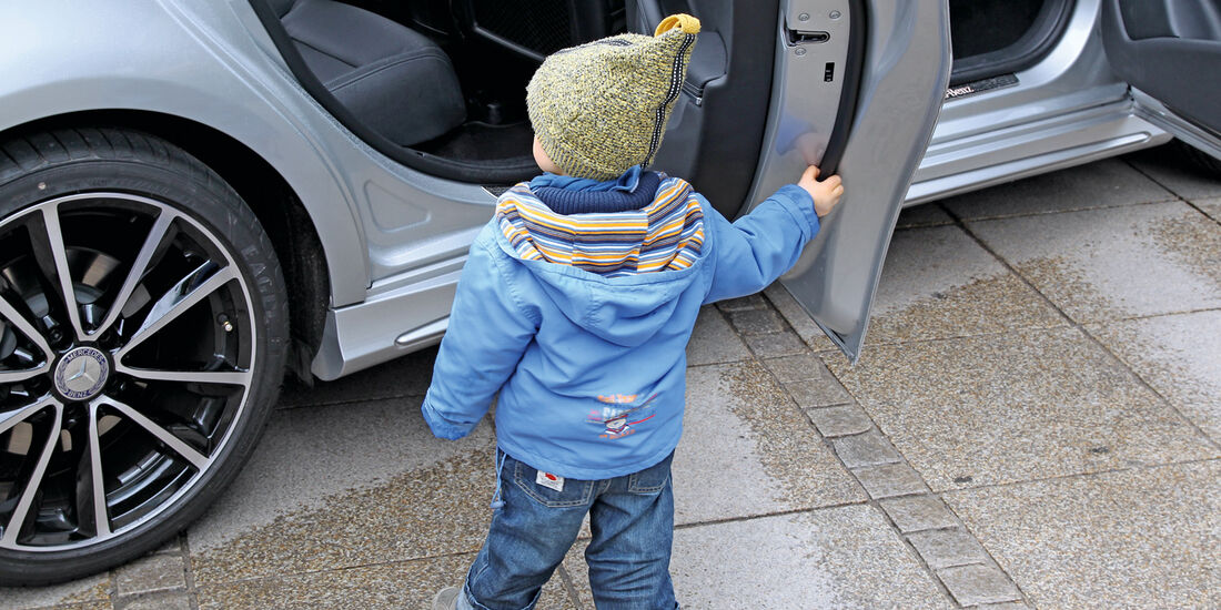 Mercedes A-Klasse, Seitentür, Kind