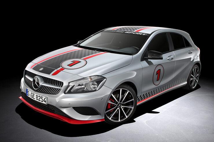 Mercedes A Klasse Zubehör Auf Dem Genfer Autosalon Mehr Extra