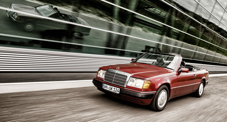 mercedes w124 cabriolet in der kaufberatung der. Black Bedroom Furniture Sets. Home Design Ideas