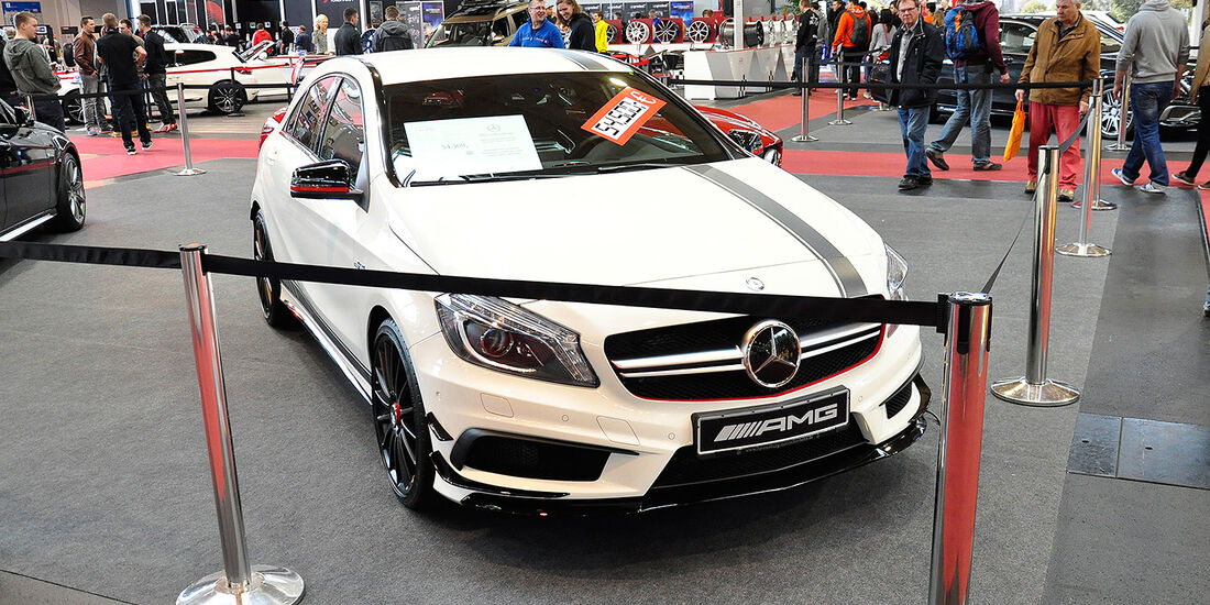 Mercedes A45 AMG, Tuning World Bodensee 2014