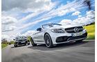 Mercedes-AMG C 63 Cabrio - Chevrolet Camaro Cabrio - Heftvorschau - sport auto 11/2017