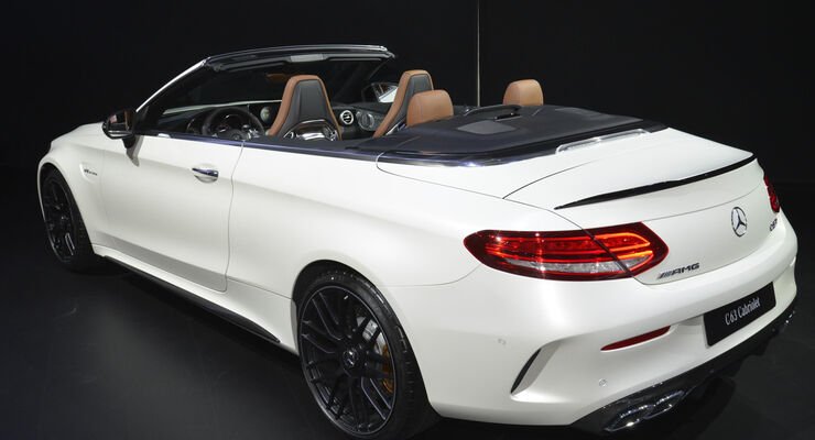 mercedes amg c 63 cabriolet in new york auto motor und sport. Black Bedroom Furniture Sets. Home Design Ideas