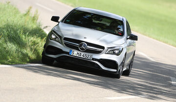 Mercedes-AMG CLA 45, Front