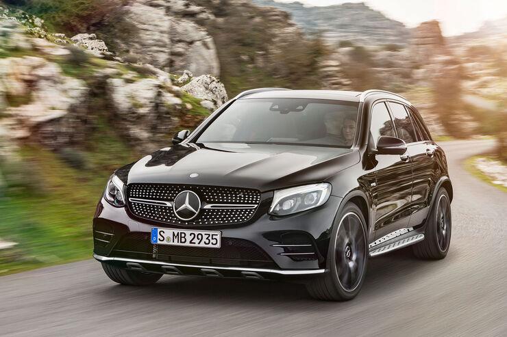Mercedes-AMG GLC 43 4Matic Sperrfrist 17.03.2016