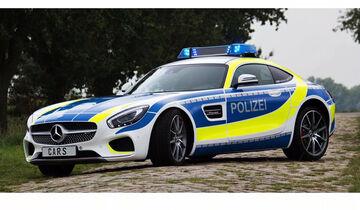 Mercedes-AMG GT Polizei