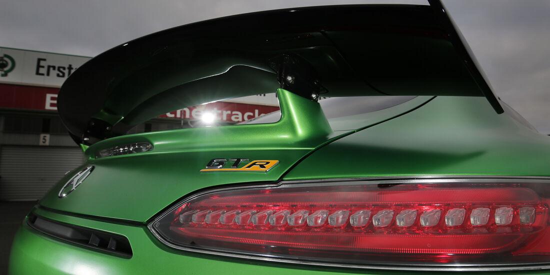 Mercedes-AMG GT R, Heckspoiler